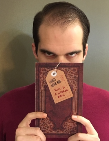 horror book with me