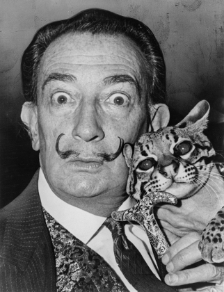 Dali with Babou