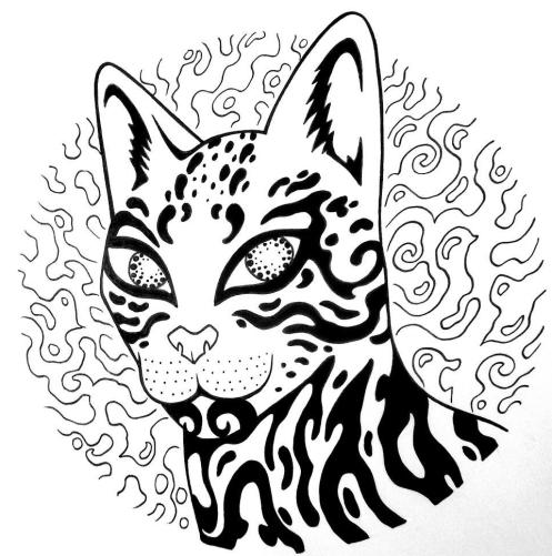 inked babou logo rd